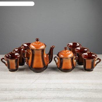 Набор чайный ажур 8 предметов