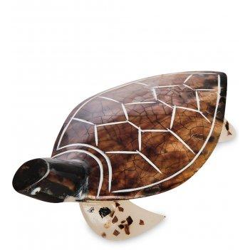 54-028 декоративное изделие из перламутра черепаха