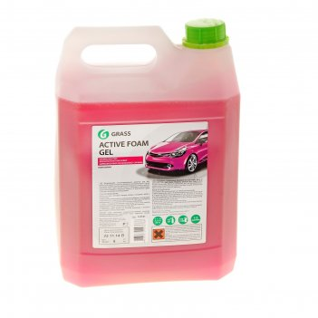 Активная пена active foam gel, канистра 6 кг