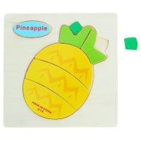 Пазл - малыш ананас, 7 элементов
