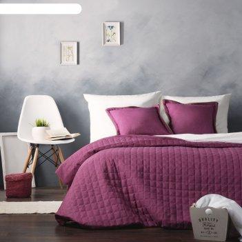 Комплект «ибица»: покрывало 230 x 250 см, наволочка 45 x 45 см -2 шт, цвет