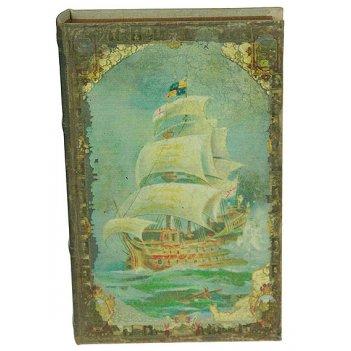 Шкатулка-фолиант мореплаватели