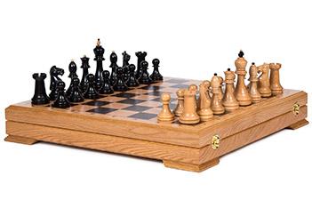 Шахматы классика эбен 51х51см kadun