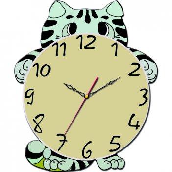 Часы настенные tiarella смешной котёнок