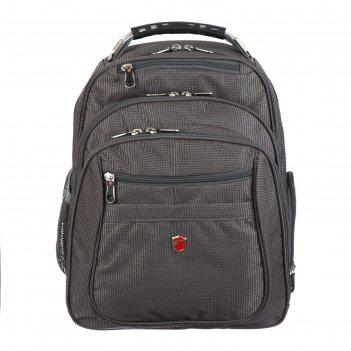 Рюкзак молодежный nukki hl010 40*31*22, коричневый