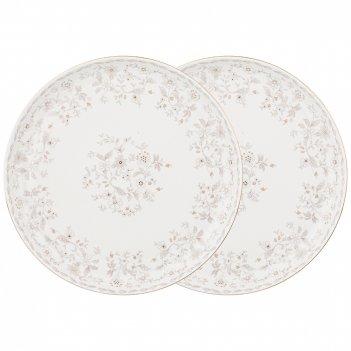 Набор из 2х тарелок обеденных emily 23,5см (кор=12наб.)