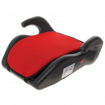 Бустер автомобильный мякиш, группа 3 (22-36 кг), цвет красный