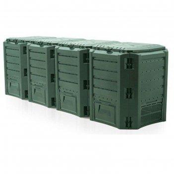 Компостер module, 1600 л, цвет зелёный