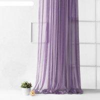Портьера «грик», размер 500 x 270 см, цвет фиолетовый