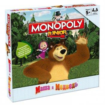 Монополия junior. маша и медведь, hasbro