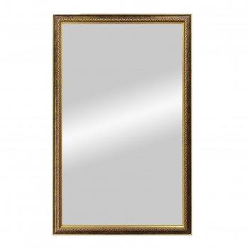 Зеркало «макао», настенное, бронза, 45x70 см