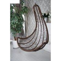 Подвесное кресло сантарини (комплект), коричневое