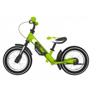 Беговел с 2 тормозами small rider roadster sport 4 air (зеленый)