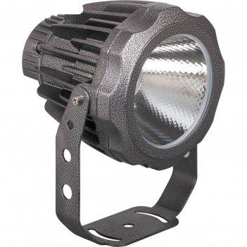 Прожектор светодиодный ll-888, 30w, свет теплый белый, ip65, цвет металлик