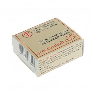 Мыло монастырское оздоровительное для проблемной кожи, 30 г