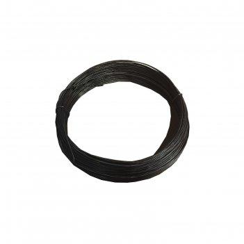 Проволока стальная низкоуглеродистая термообработанная 4.0, 5 кг