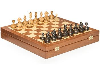 Шахматы woodgame махагон, 44х44см