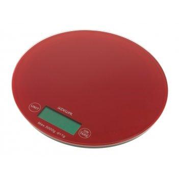 Весы электронные dewal красные
