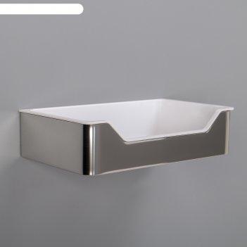Полка 19,6х12х5,2 см, нержавеющая сталь