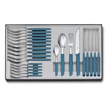 Набор из 24 столовых принадлежностей victorinox swiss modern: 6 ножей для