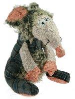 Интерьерная фигурка - мягкая игрушка мышка 27см