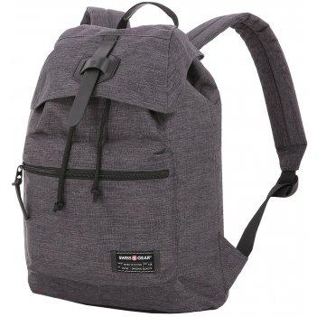 Рюкзак swissgear 13'', cерый, ткань grey heather/ полиэстер 600d