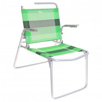 Кресло-шезлонг складное 1 зеленый  к1