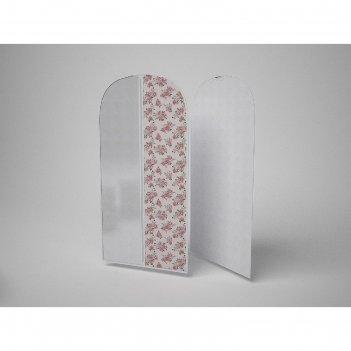 Чехол для одежды малый «шебби нью», 60х100 см