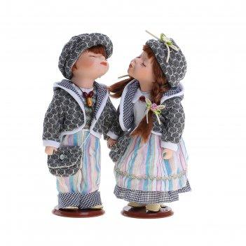 Кукла коллекционная поцелуйчик - ян и яна в наборе 2 шт