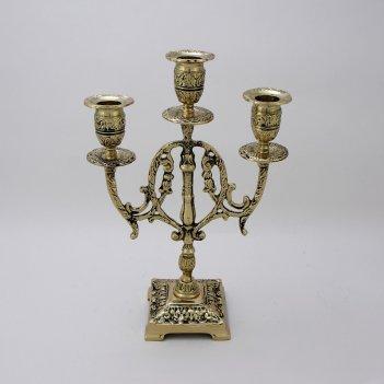 Канделябр трехрожковый лира (bp-14057-d)