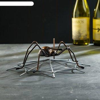 Подставка для бутылки паук