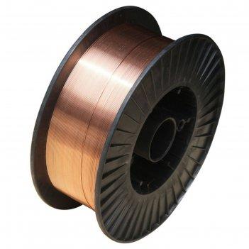 Сварочная проволока прима er70s-6 (07061205), стальная, омедненная, d=1.2