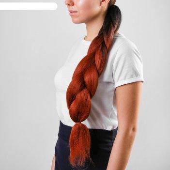 Коса на резинке анна