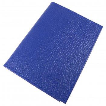 Обложка для паспорта и автодокументов, цвет синий