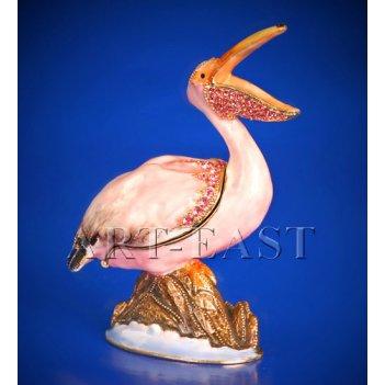 Jb- 03 шкатулка пеликан