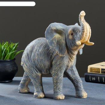 Фигура слон 22х32х15см