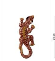 20-043 панно настенное геккон (албезия, о.бали) 30см