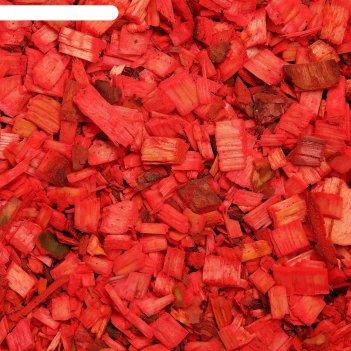 Щепа декоративная 60 л. красный