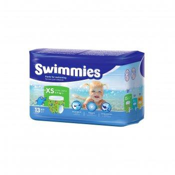 Трусики для плавания детские хелен харпер свимс размер 4-9кг, 13 шт