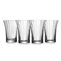 Набор 4-х стаканов для воды aurelia, объем: 340 мл, материал: стекло, цвет