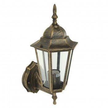 Светильник tdm 6060-11, садово-парковый, шестигранник, 60 вт, вверх, бронз