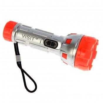 Фонарик ручной робот, 1 led, на шнурке, микс, 3.8х11см