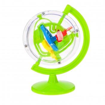 Игрушка логическая «лабиринтус-глобус», микс