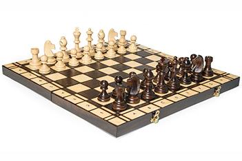 Шахматы складные большие турнирные 178 (стаунтон) 48х48см