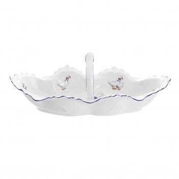 Менажница queens crown гуси корона 36см