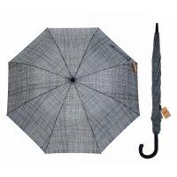 Зонт полуавтоматический «фактура», 8 спиц, r = 56 см, цвет серый