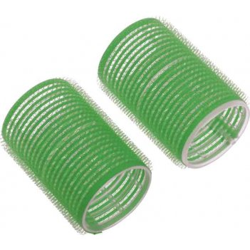 Бигуди-липучки dewal beautyзеленые d 48ммx63мм(10шт/упак)