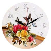 Часы-винтаж бабочки