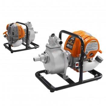 Мотопомпа carver cgp 259, 4т, 1.2 квт/1.6 л.с., 39 см3, глубина 7 м, 150 л