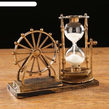 Часы песочные мемориал, 15х12.5х6.5 см